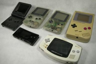 ゲームボーイシリーズ6種